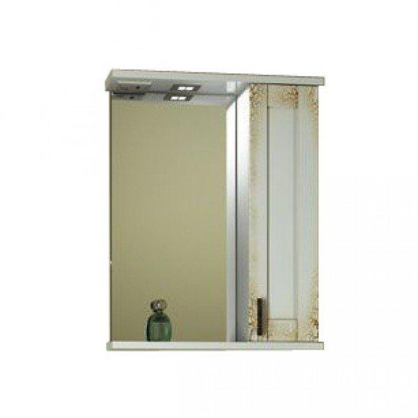 Зеркало для ванной комнаты ORIO ORIO Кристи 60 (цвет антик бежевый)