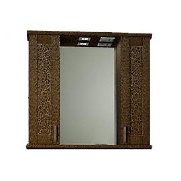 Зеркало для ванной комнаты ORIO ORIO Кристи 80 (цвет антик черный)