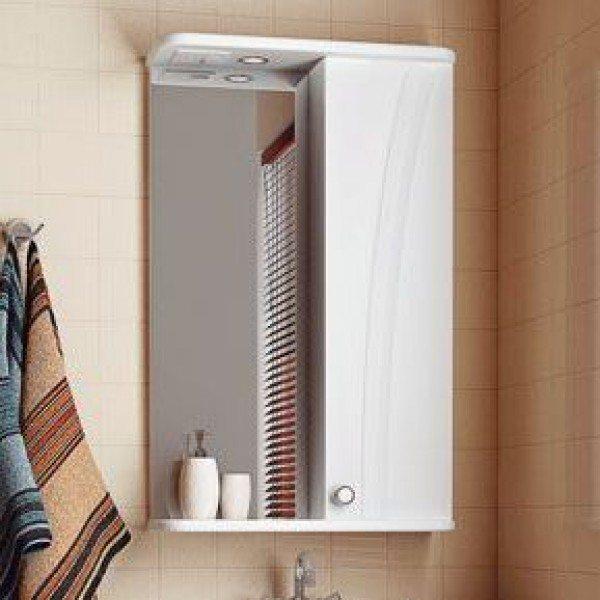 Зеркало для ванной комнаты ORIO ORIO Лотос 50 (цвет белый)