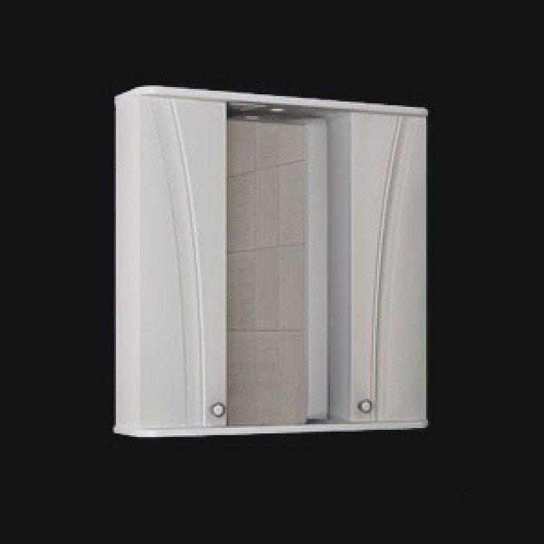 Зеркало для ванной комнаты ORIO ORIO Лотос 80 (цвет белый)