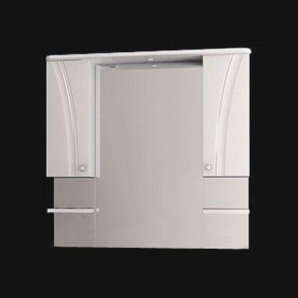 Зеркало для ванной комнаты ORIO ORIO Лотос 105 (цвет белый)