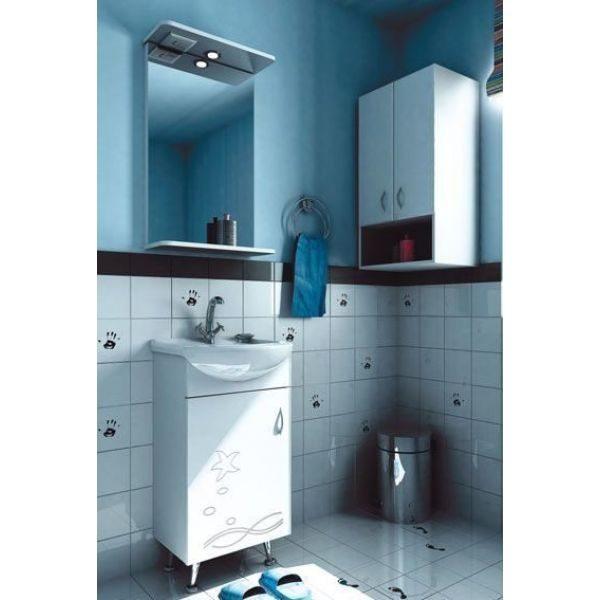Комплект мебели для ванной комнаты ORIO Сити 40 (цвет белый)