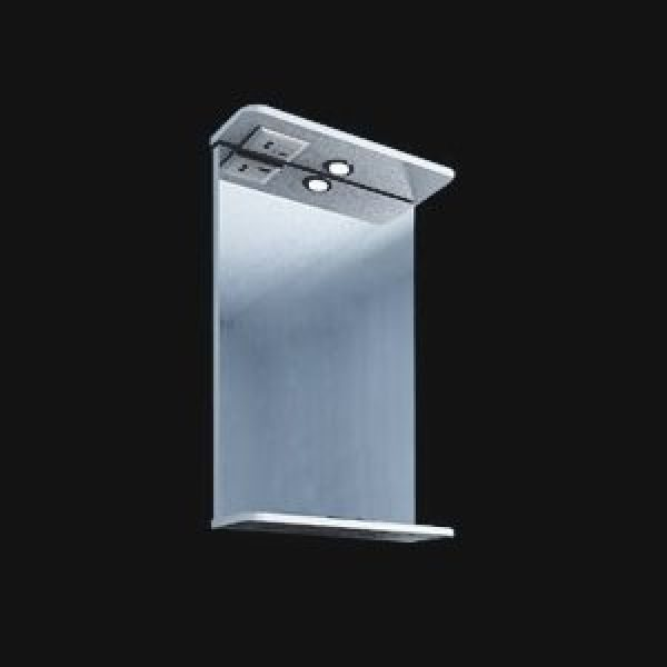 Зеркало для ванной комнаты ORIO Стандарт 45 (цвет белый)