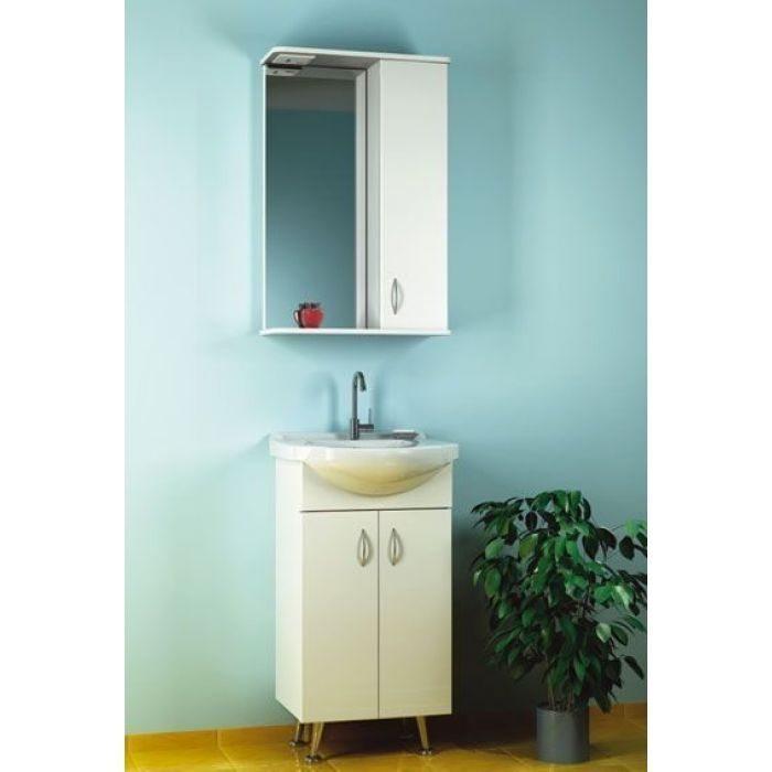 Комплект мебели для ванной комнаты ORIO Сити 45 (цвет белый)