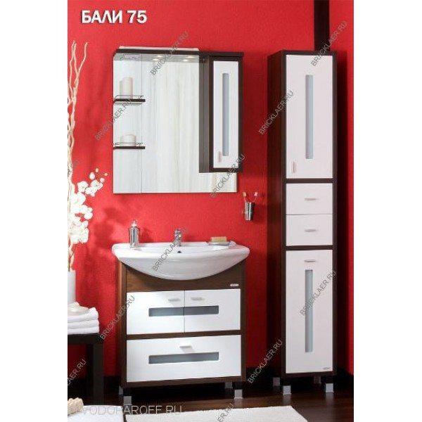 Комплект мебели для ванных бриклаер Бали 75