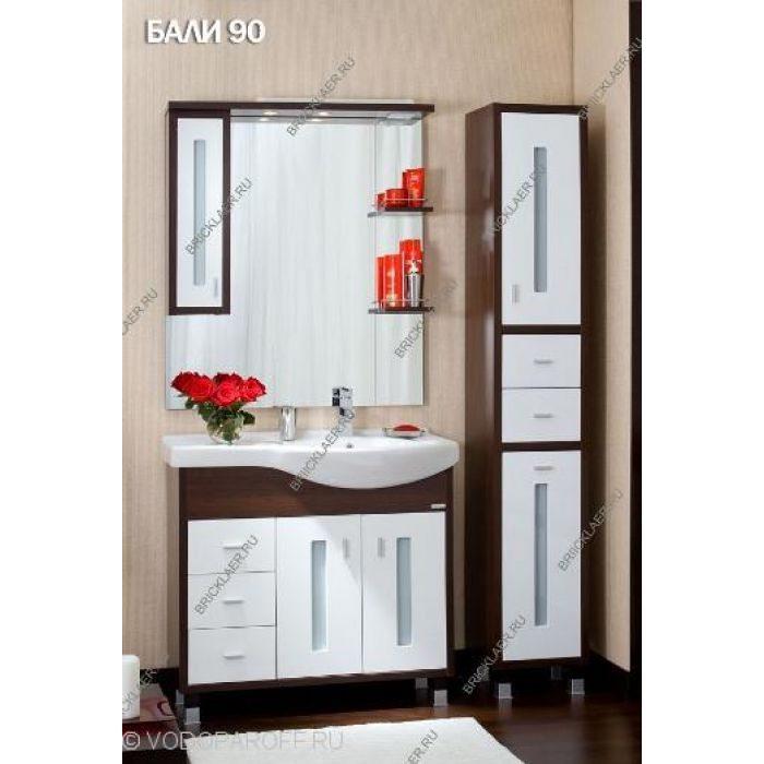 Комплект мебели для ванных бриклаер Бали 90