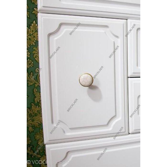 Комплект мебели для ванных бриклаер Лаура 75 (цвет белый)
