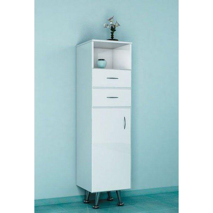 Комод напольный для ванной ORIO Сити 30 (цвет белый)