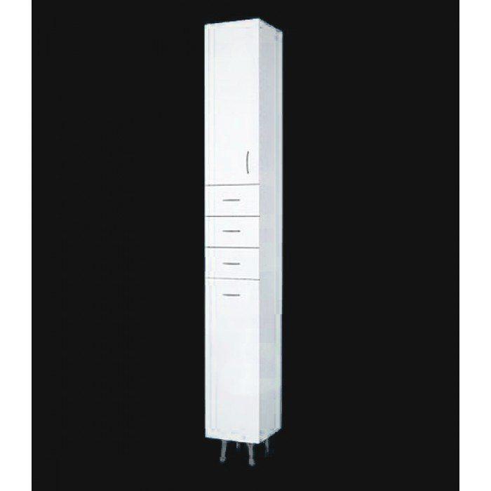 Пенал для ванной ORIO Сити 31 (цвет белый)