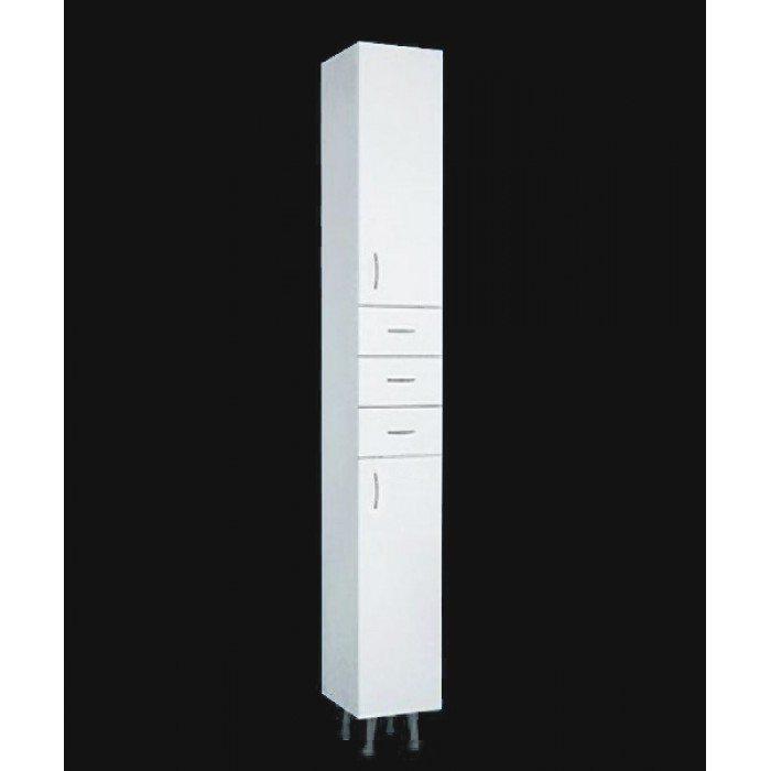 Пенал для ванной ORIO Сити 25 (цвет белый)