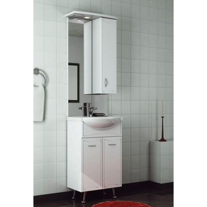 Комплект мебели для ванной ORIO Стиль 55 (цвет белый)