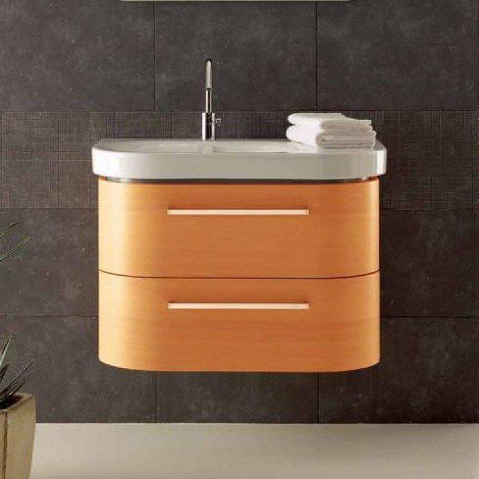 Тумба для ванной Berloni Bagno DAY BS05 (цвет 413 ciliegio-вишня, отделка шпон)