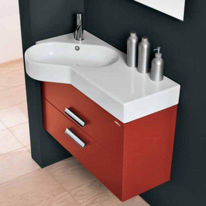 Комплект мебели для ванной Berloni Bagno WALL WL BS13T+SS0900A+XP15