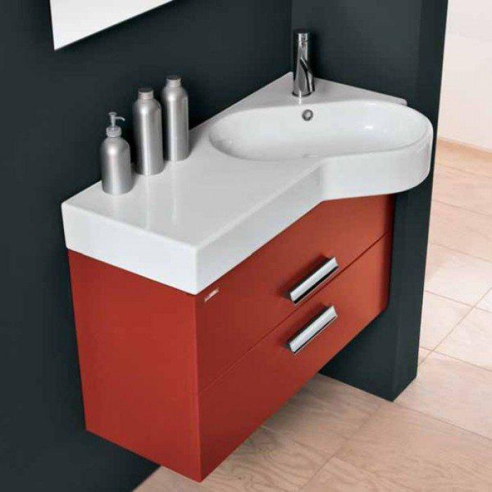 Тумба для ванной Berloni Bagno WALL WL BS13T (цвет 161)