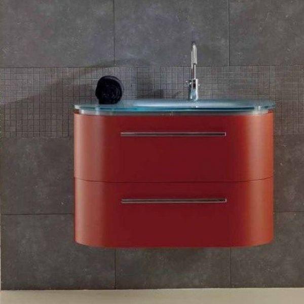 Тумба для ванной комнаты Berloni Bagno DAY BS05 (отделка лак, цвет 161 india opaco-индийский непрозрачный, матовый)
