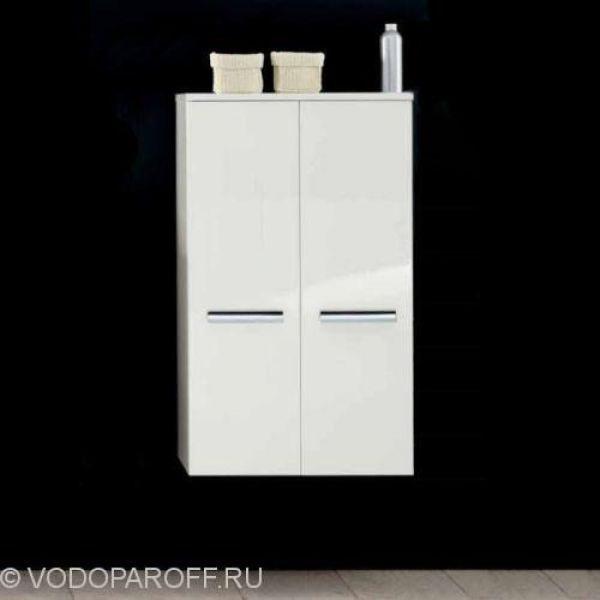 Шкаф для ванной Berloni Bagno WALL WL CB02 (цвет 100 bianco lucido-белый)