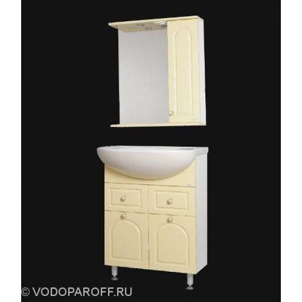 Комплект мебели для ванной SANMARIA Венге 60 (цвет ваниль)