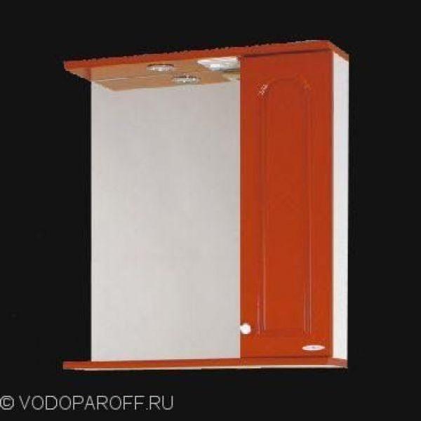 Зеркало для ванной SANMARIA Венге 60 (цвет красный)