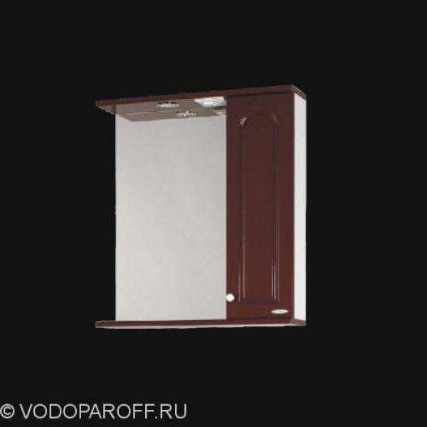 Зеркало для ванной SANMARIA Венге 60 (цвет вишня)