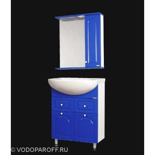 Комплект мебели для ванной SANMARIA Венге 60 (цвет синий)