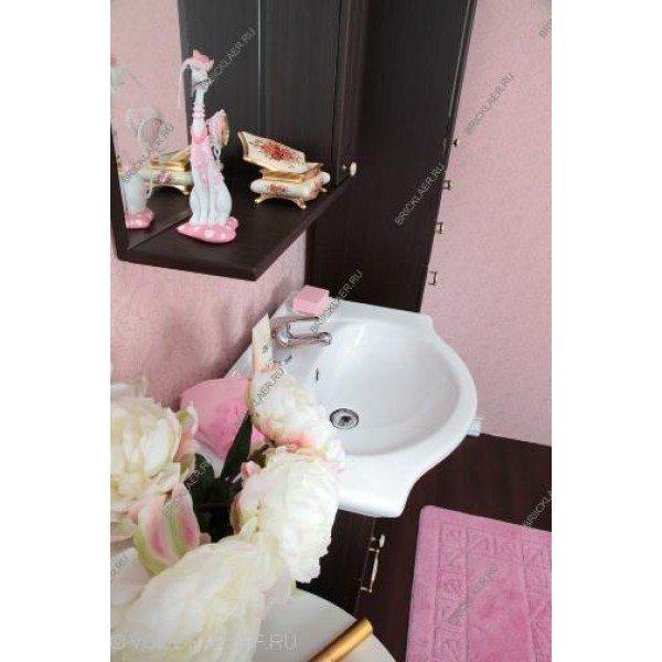 Комплект мебели для ванных бриклаер Анна 60 (цвет венге)