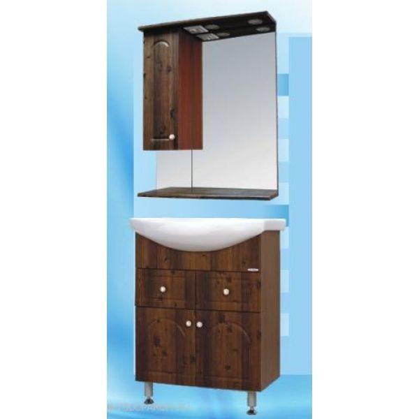 Комплект мебели для ванной SANMARIA Венге 65 (цвет светлый орех)