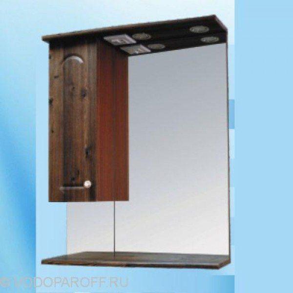 Зеркало для ванной SANMARIA Венге Венге 65 (цвет светлый орех)