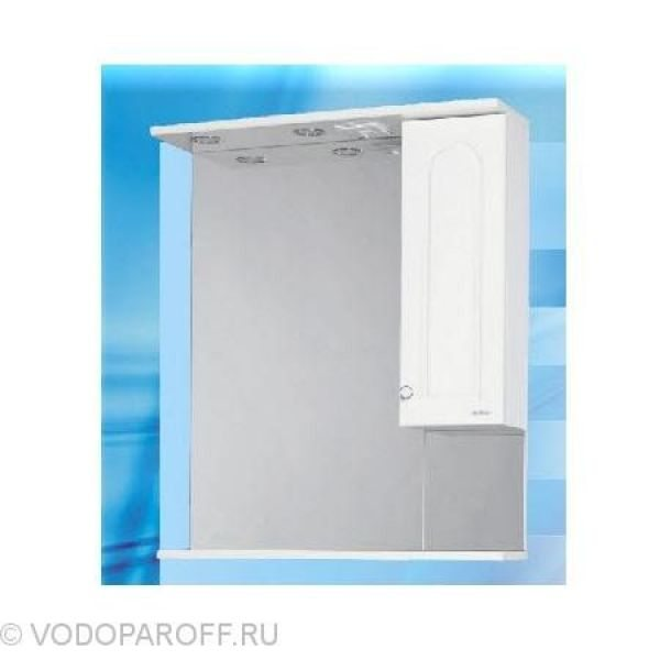 Зеркало для ванной SANMARIA Венге 70 (цвет белый)