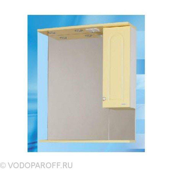 Зеркало для ванной SANMARIA Венге 70 (цвет ваниль)