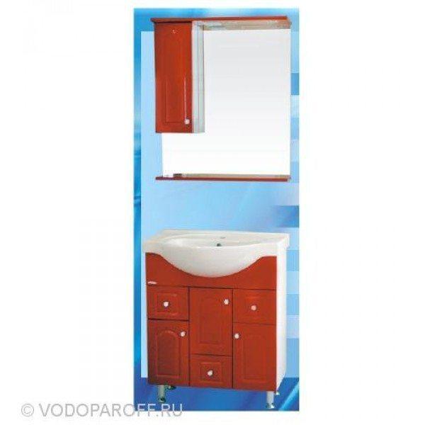 Комплект мебели для ванной SANMARIA Венге 70 (цвет красный)
