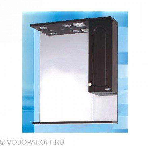 Зеркало для ванной SANMARIA Венге 70 (цвет венге)