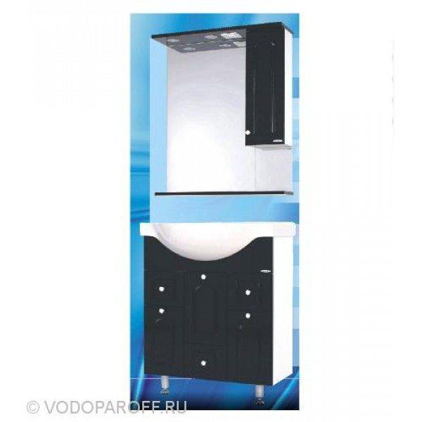 Комплект мебели для ванной SANMARIA Венге 70 (цвет черный)