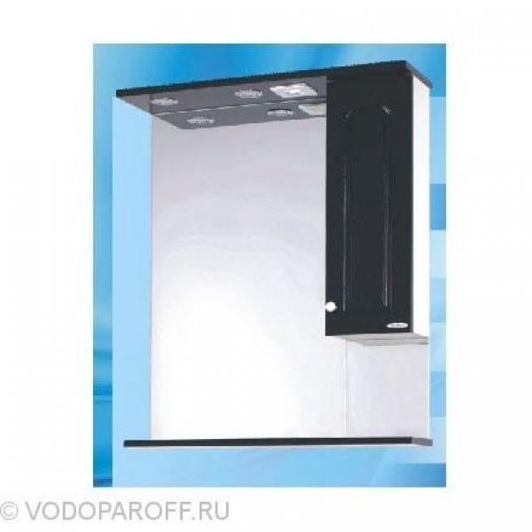 Зеркало для ванной SANMARIA Венге 70 (цвет черный)