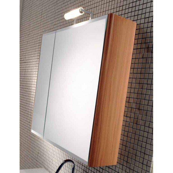 Подвесной шкаф для ванной с зеркальными створками Berloni Bagno DAY SN07