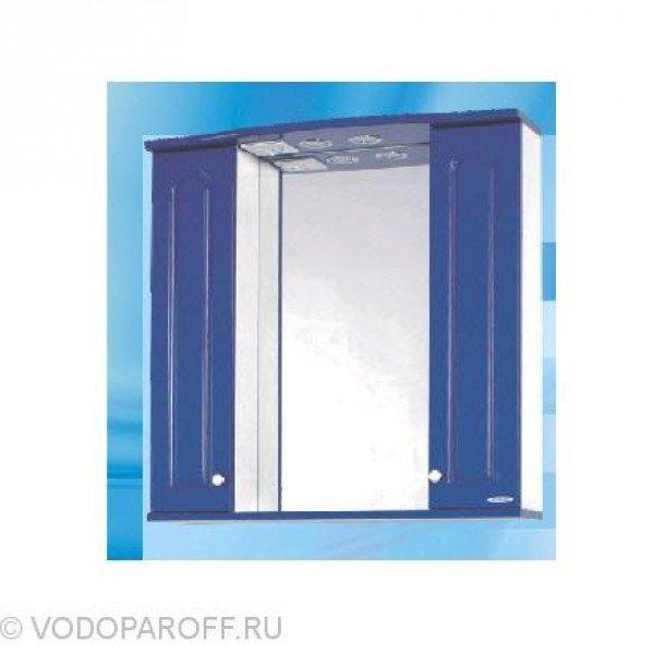 Зеркало для ванной SANMARIA Венге 75 (цвет синий)