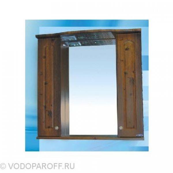 Зеркало для ванной SANMARIA Венге 75 (цвет светлый орех)