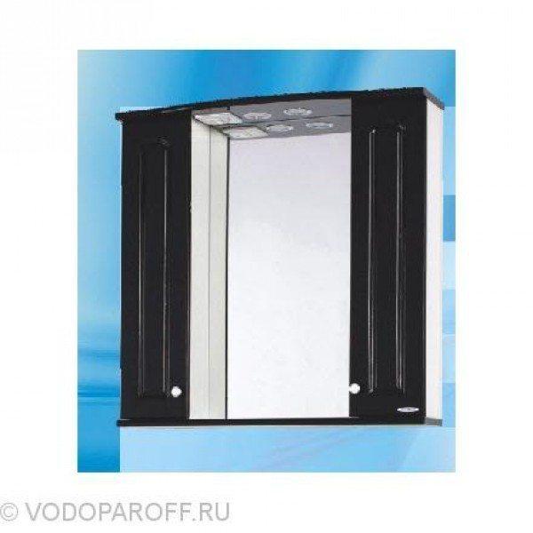 Зеркало для ванной SANMARIA Венге 75 (цвет черный)
