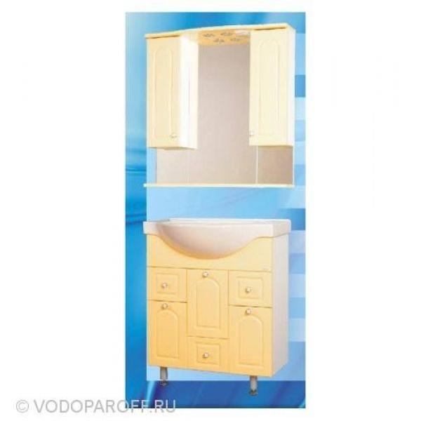 Комплект мебели для ванной SANMARIA Венге 80 (цвет ваниль)