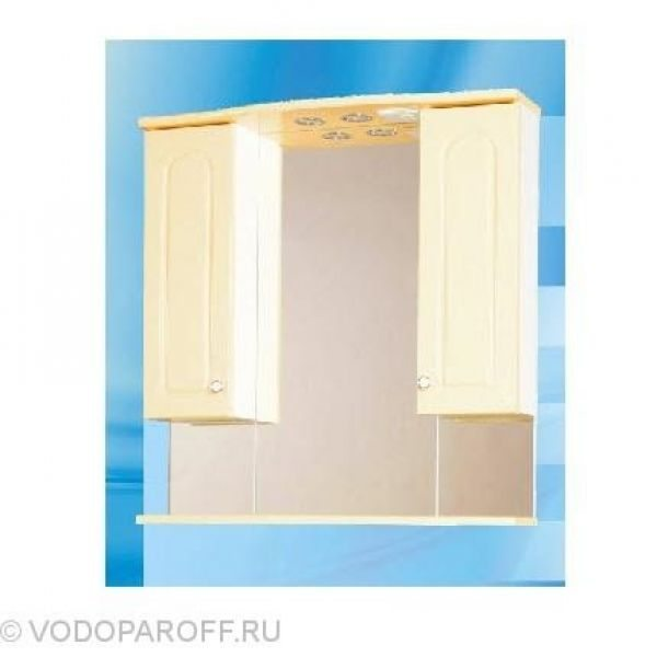 Зеркало для ванной SANMARIA Венге 80 (цвет ваниль)