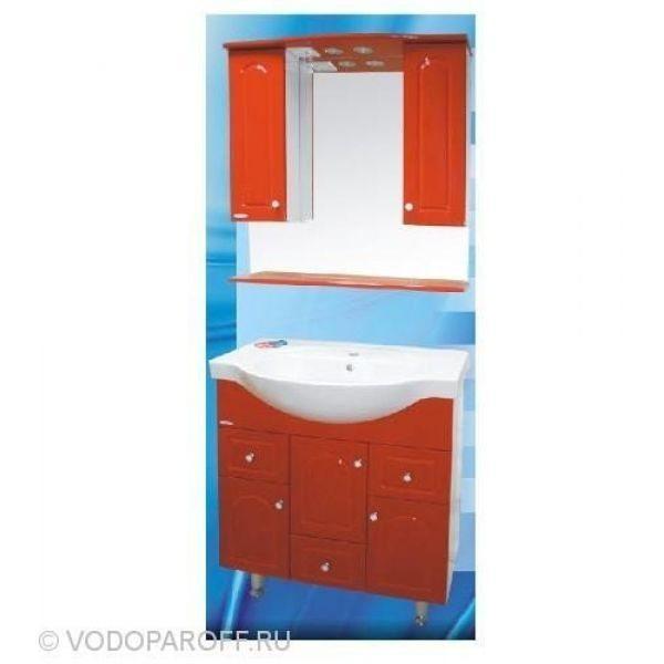 Комплект мебели для ванной SANMARIA Венге 80 (цвет красный)