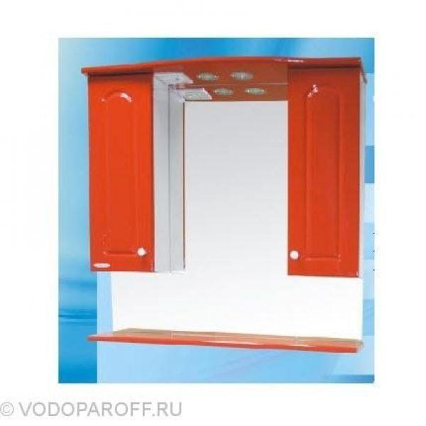 Зеркало для ванной SANMARIA Венге 80 (цвет красный)