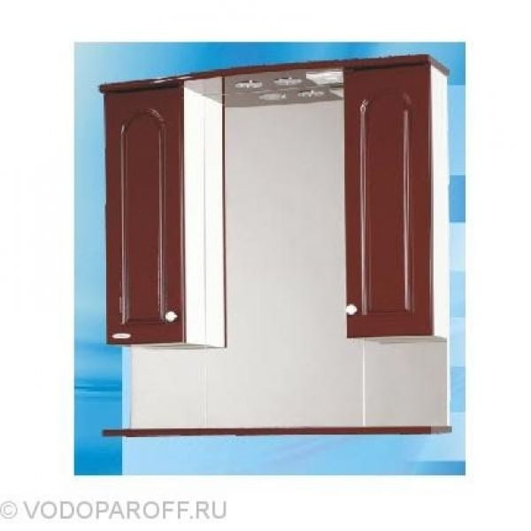 Зеркало для ванной SANMARIA Венге 80 (цвет вишня)