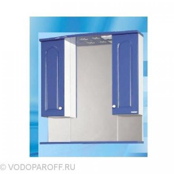 Зеркало для ванной SANMARIA Венге 80 (цвет синий)