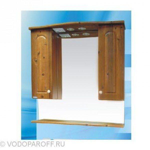 Зеркало для ванной SANMARIA Венге 80 (цвет светлый орех)