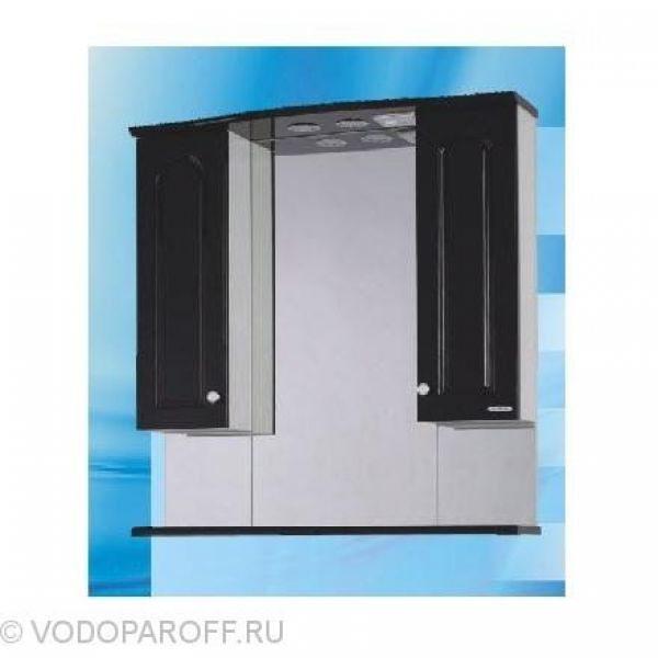 Зеркало для ванной SANMARIA Венге 80 (цвет черный)