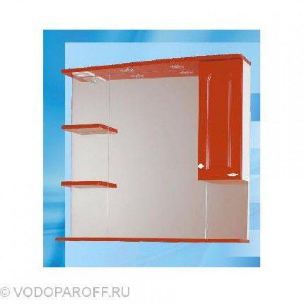 Зеркало для ванной SANMARIA Венге 90 (цвет красный)