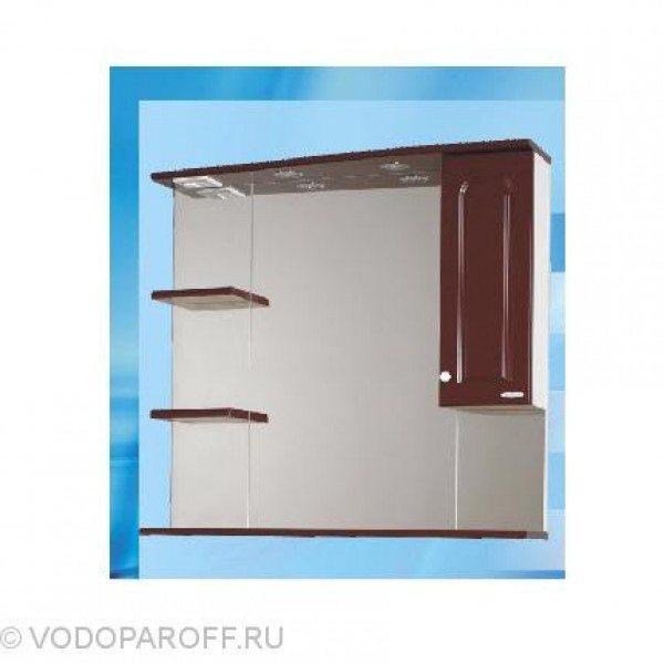 Зеркало для ванной SANMARIA Венге 90 (цвет вишня)