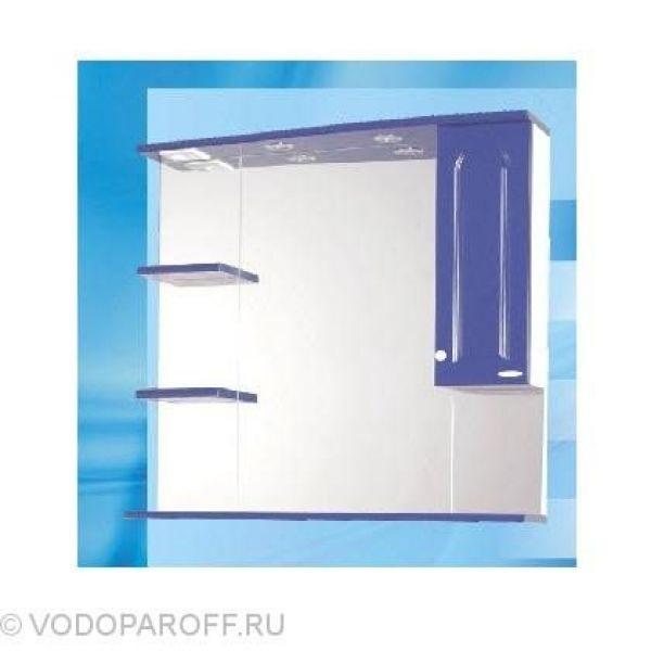 Зеркало для ванной SANMARIA Венге 90 (цвет синий)