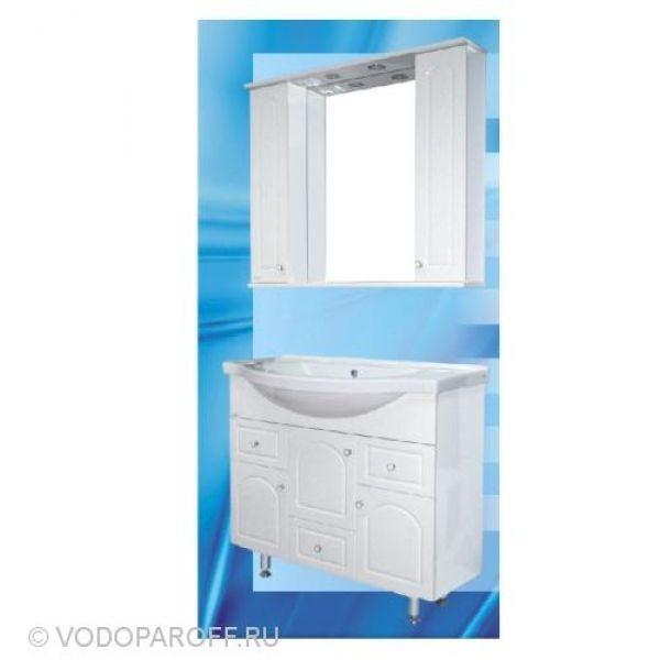 Комплект мебели для ванной SANMARIA Венге 100 (цвет белый)