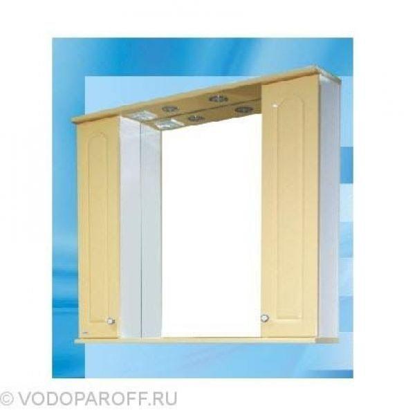 Зеркало для ванной SANMARIA Венге 100 (цвет ваниль)
